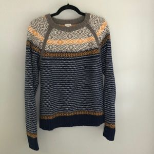 Fossil sweater heavy knit